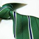 100% silk tie SW2704,green check
