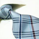 100% silk tie SW2715,grey check