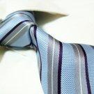 100% silk tie SW2716,grey stripe