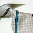 100% silk tie SW2730,Beige stripe