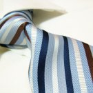 100% silk tie SW2737,blue stripe