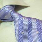 100% silk tie SW2740,purple stripe