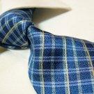 100% silk tie SW2747,blue check