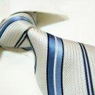 100% silk tie SW2758,white stripe