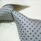 100% silk grey tie SW2771