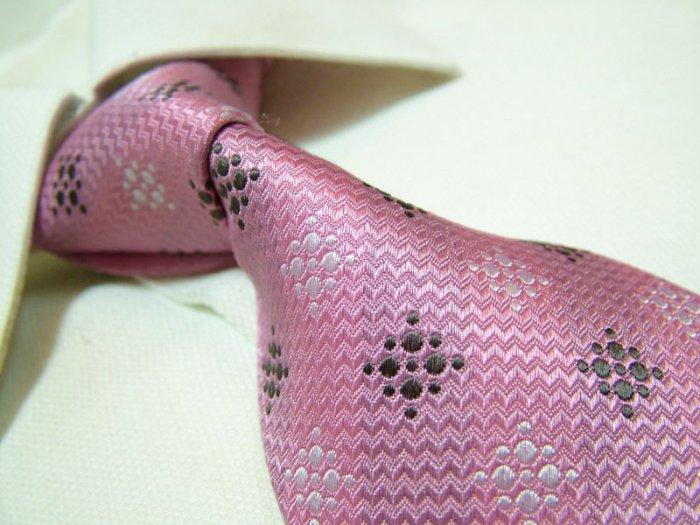 100% silk pink tie SW2787
