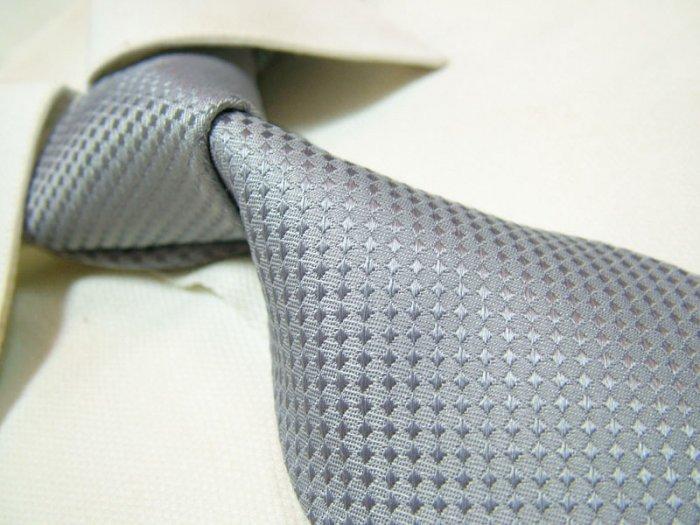 100% silk silver necktie SW2793