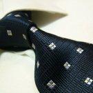 100% silk black necktie SW2803