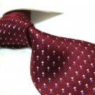 100% Silk Burgundy Tie SW2870