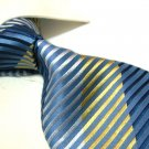 100% Silk Tie SW2871,mixed color stripe