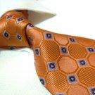 100% Silk Orange Tie SW2879