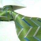 100% Silk Green Tie SW2888