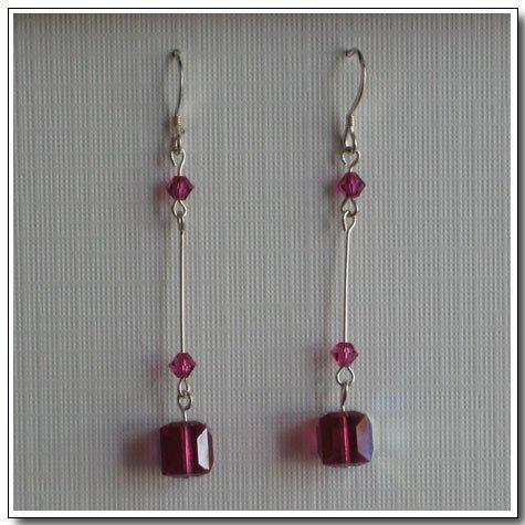 Straight Cube Earrings