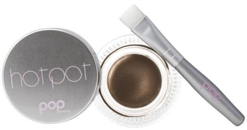 Pop Beauty HOT POT Liner BRONZED OUT w/brush
