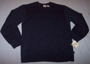 NWT Green Dog basic navy blue sweatshirt boys M 12 14 BTS