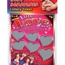 Little Love Treat lotto Ticket