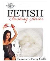 Fetish Fantasy Beginners Furry Cuffs - White
