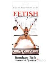 Fetish fantasy series bondage belt restraint system
