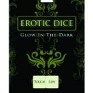 Erotic dice - glow in the dark