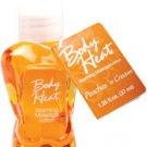 Mini body heat - 1.25 oz peaches n' cream