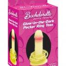 Bachelorette party favors pecker toss - glow in the dark