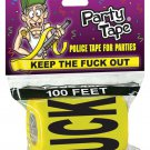 Keep the fuck out party tape