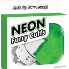 Neon Furry Cuffs - Green