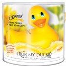 I rub my duckie massager - yellow