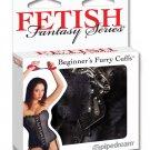 Fetish Fantasy Beginners Furry Cuffs - Black