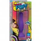 "American Pop Mode 5"" Silicone Anal Plug - Purple"