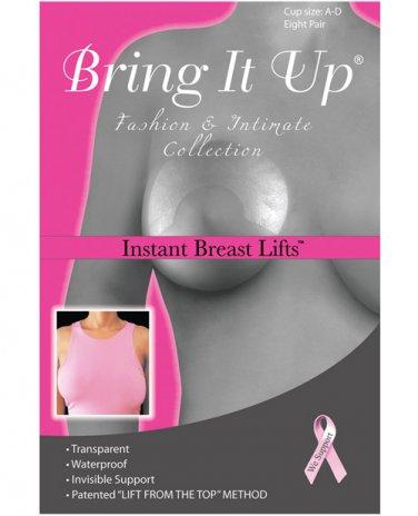 Bring it Up Original Breast Lifts - A- D Cup Pack of 8