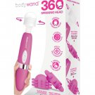 Body Wand Rechargeable 360 Degrees Set - 3 pc