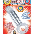 MachO Clitoral Massage Ring - Clear
