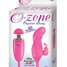 O Zone USB Rechargeable Orgasmic Bunny Vibe - 10 Function Pink