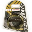"SI Novelties Major Dick Commando- Wide 1.75"" Donut-Camo"