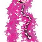 Bachelorette Flashing Feather Boa - Pink