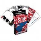 Intimate Strip Poker Playing Card Game