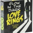 Glow in the Dark Love Rings - Pack of 3