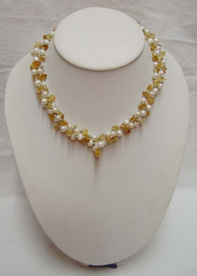 Shining Sea Pearl Beads Beautiful String Necklace