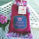 "FURshionista Fashion ""Tropical Raspberry"" Handcrafted Diva Doggie Sweater"