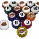 Officially Licensed College Billiard Pool Ball Sets (Original Design)