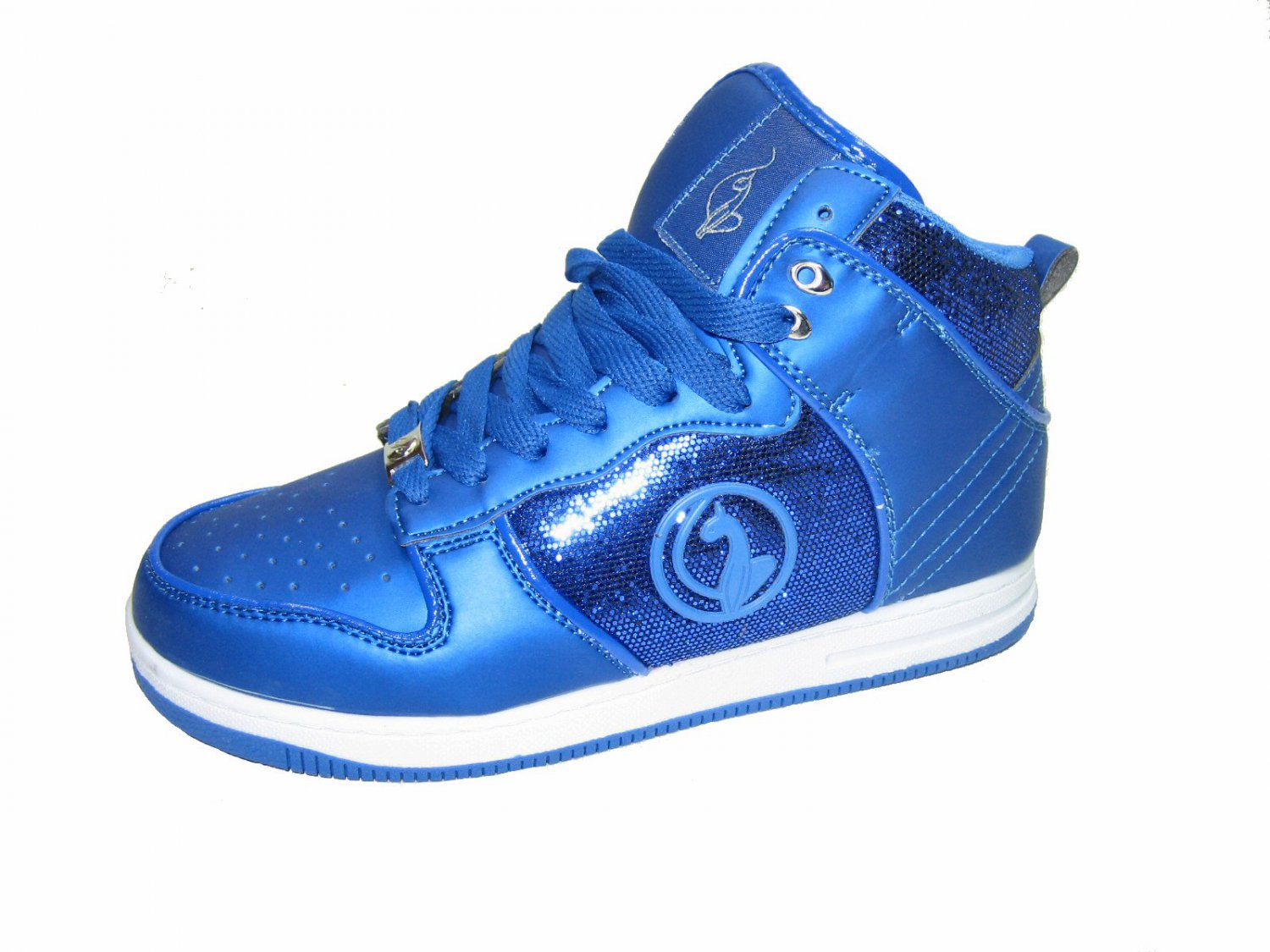 Baby Phat Gina women s athletic fort flats high top
