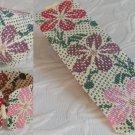 Hawaiian Print Colors Cuff Bracelet - Loom Bead Pattern
