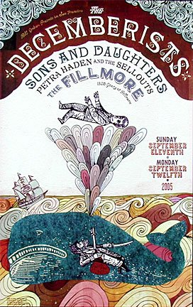 The Decemberists: Fillmore Poster (F716)