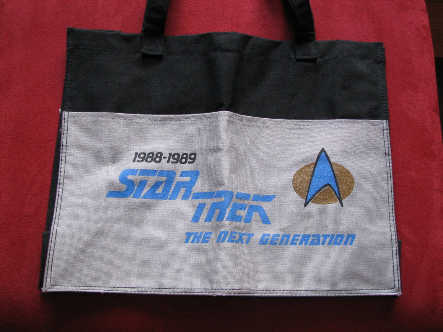 Star Trek The Next Generation Tote Bag