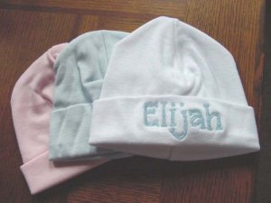 Personalized Baby Infant Newborn Hospital Cap Hat