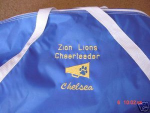 Personalized Cheerleading Cheerleader Cheer  Duffle Bag