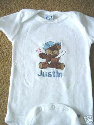 Personalized Infant Newborn Onesie Baby Boy with name