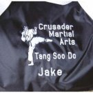 Personalized Karate Martial Arts Black Belt  Gym Bag