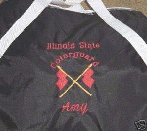 Personalized Girls ColorGuard WinterGuard Duffle Bag